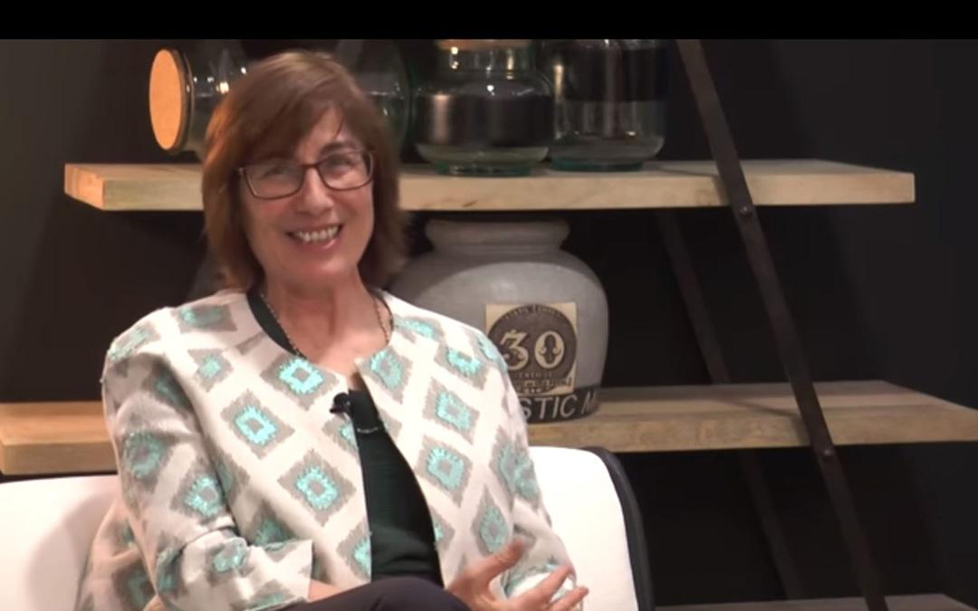Carmen Magallón, en una entrevista en 'Ten con Ten', en La COMARCA.