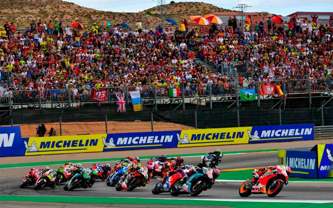 Carrera de MotoGP, este domingo. // ASMedia.