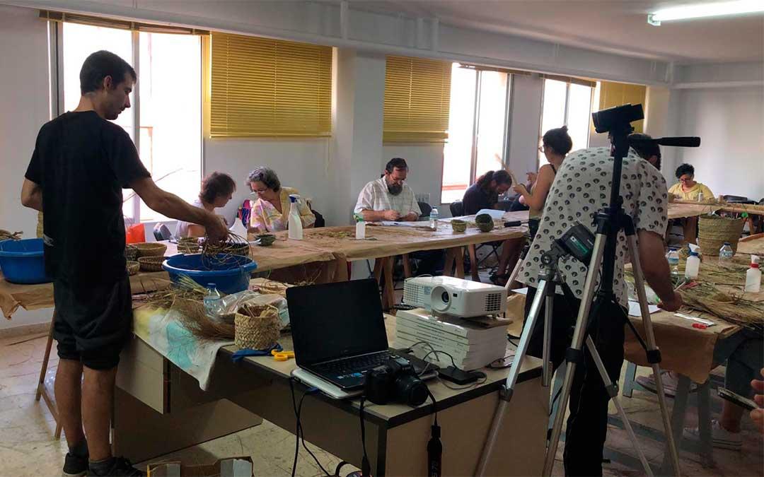 Imagen de archivo/ Aula de la UNED en Caspe.
