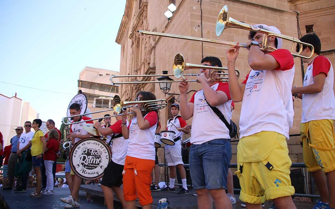 Cambian de lugar los actos festivos de Alcañiz a causa de la lluvia