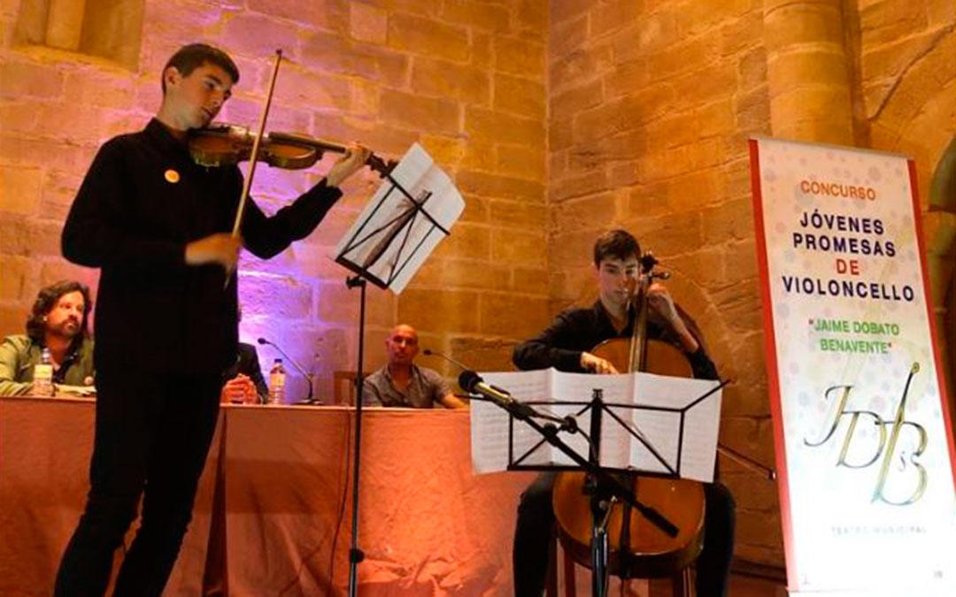 concurso jovenes promesas del violoncelo jaime dobato benavente inauguracion