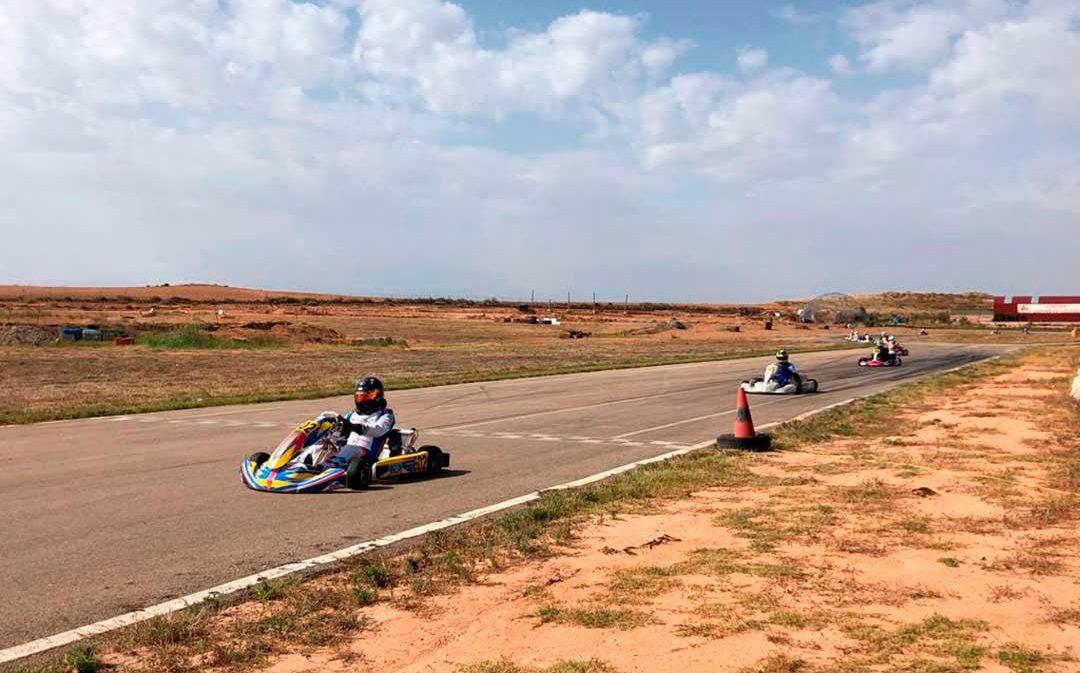 Emoción con la Copa de Aragón de Karting en Samper