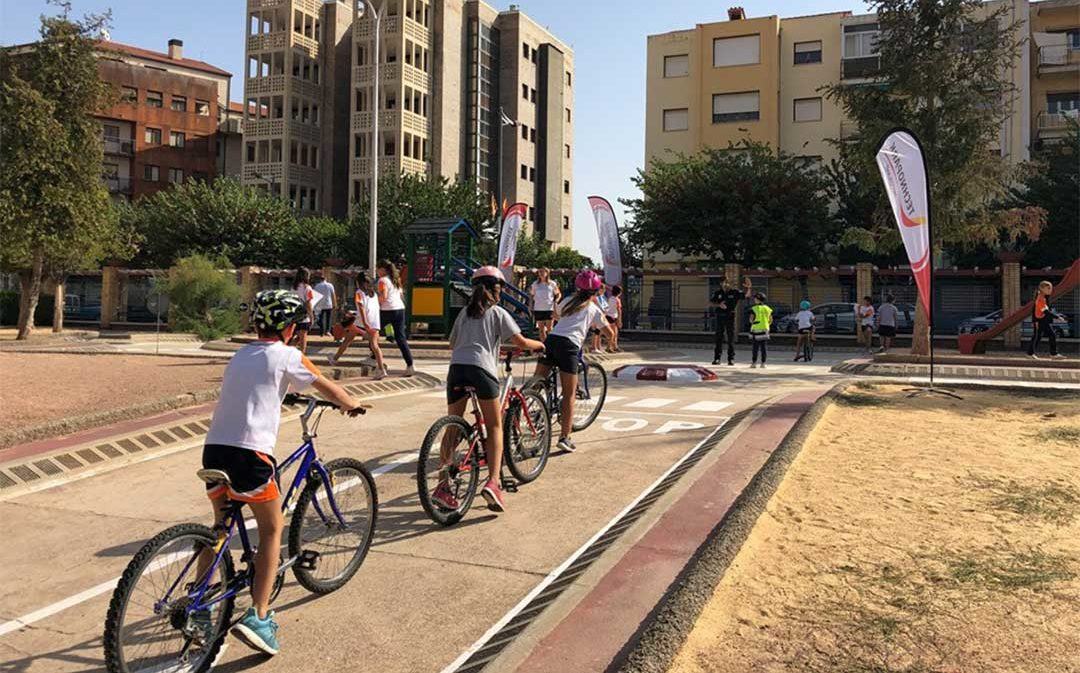 Technopark ofrece actividades sobre seguridad vial a los más pequeños