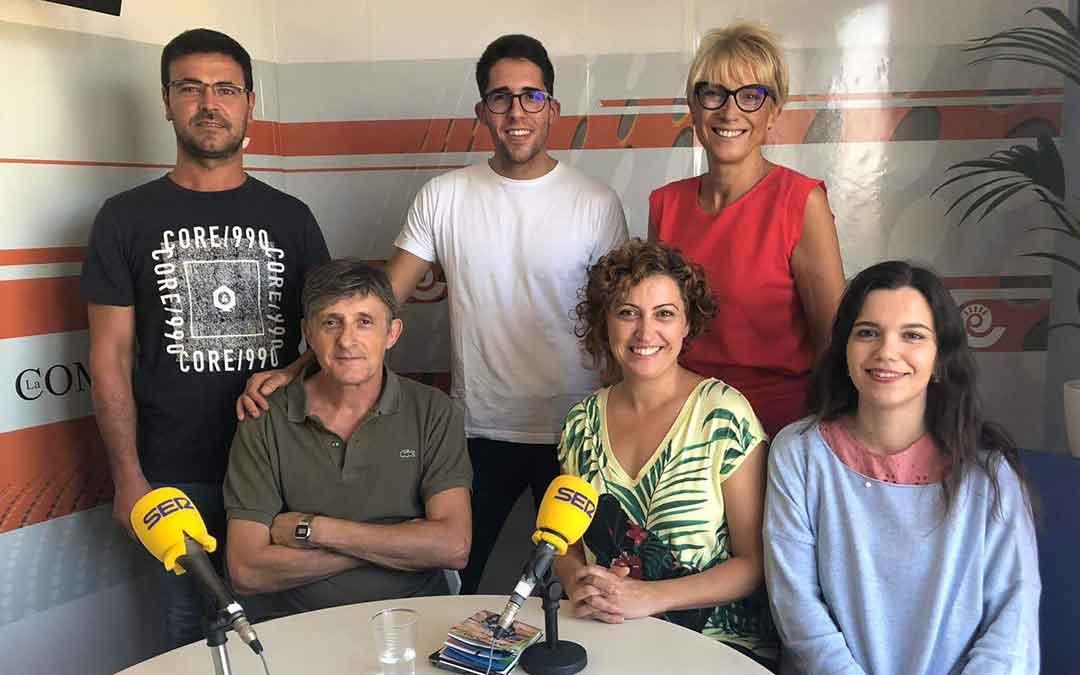 Invitados al programa especial sobre MotoGP en Alcañiz.