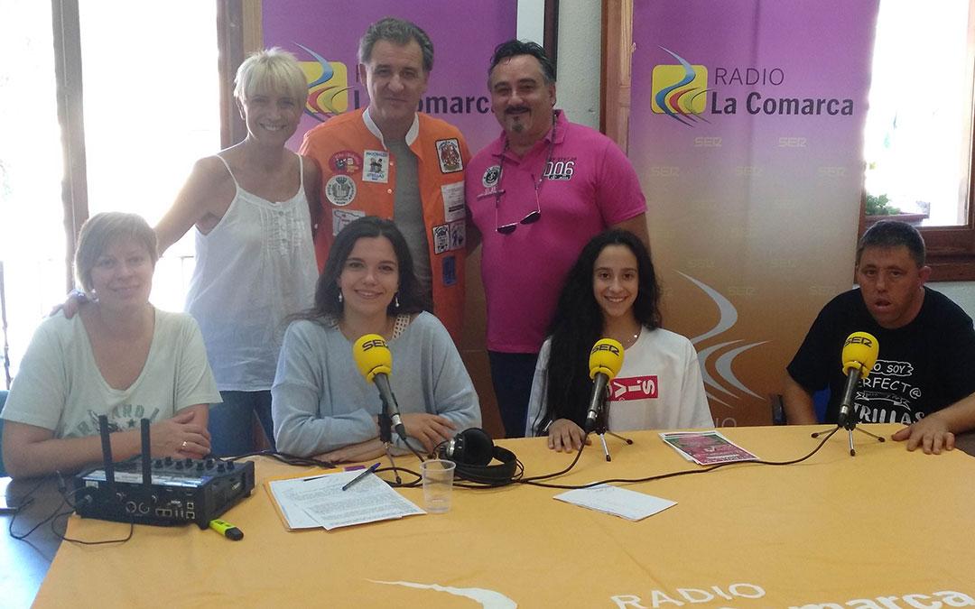 Programa especial emitido desde el Ayuntamiento de Utrillas./ La Comarca