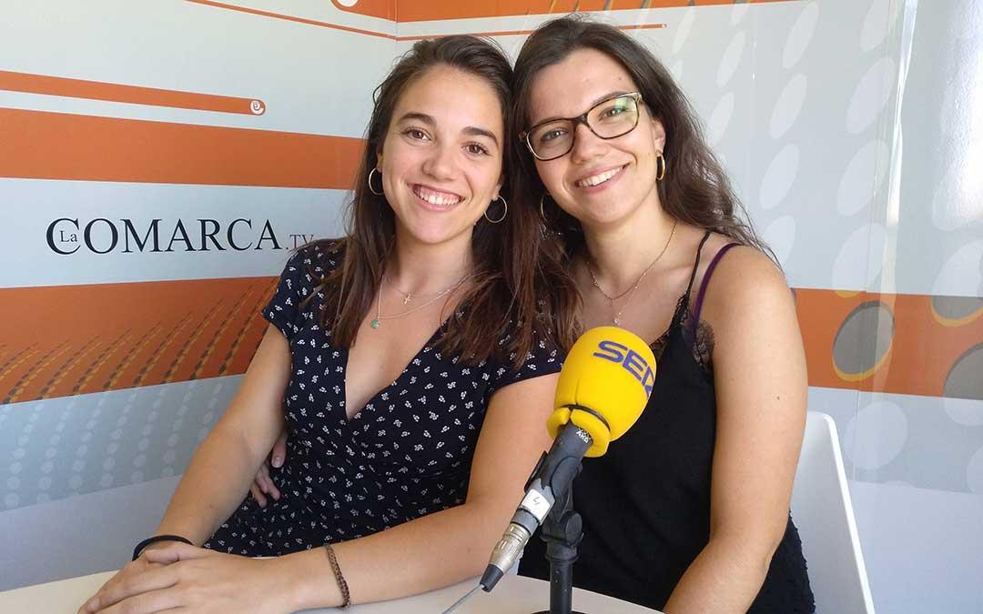 Esther Icart y Alicia Martín en 'Hoy es tu día'./ La Comarca