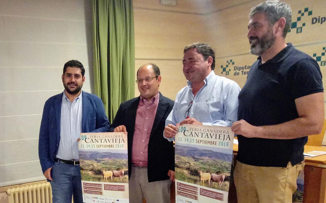 Todo a punto para la 109ª Feria ganadera de Cantavieja