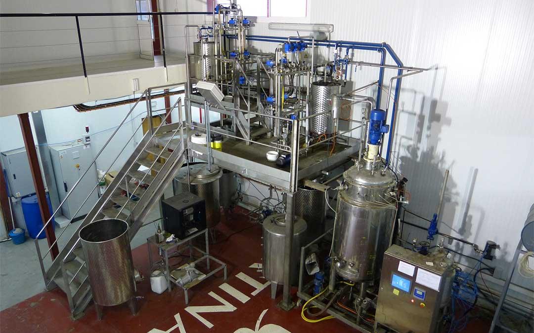 Bioreactor de Fertinagro Biotech.