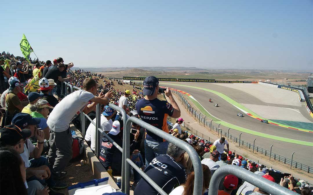 6 gradas para el gran público de MotoGP