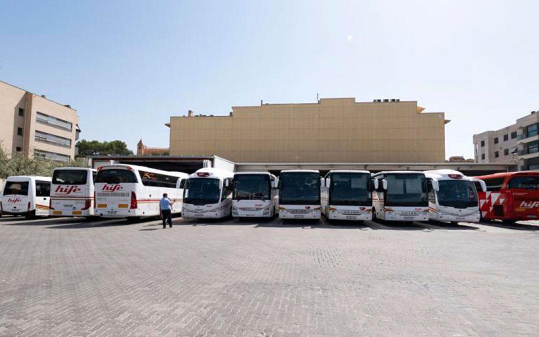 hife flota autobuses