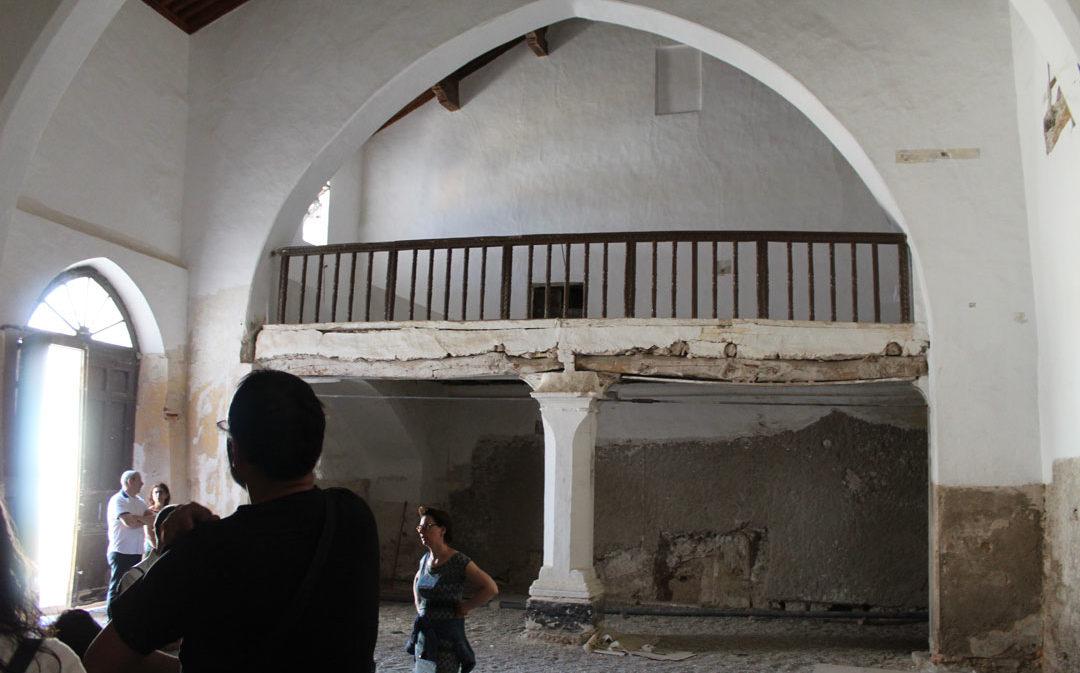 Avanza la segunda fase de la restauración de la sinagoga de Híjar
