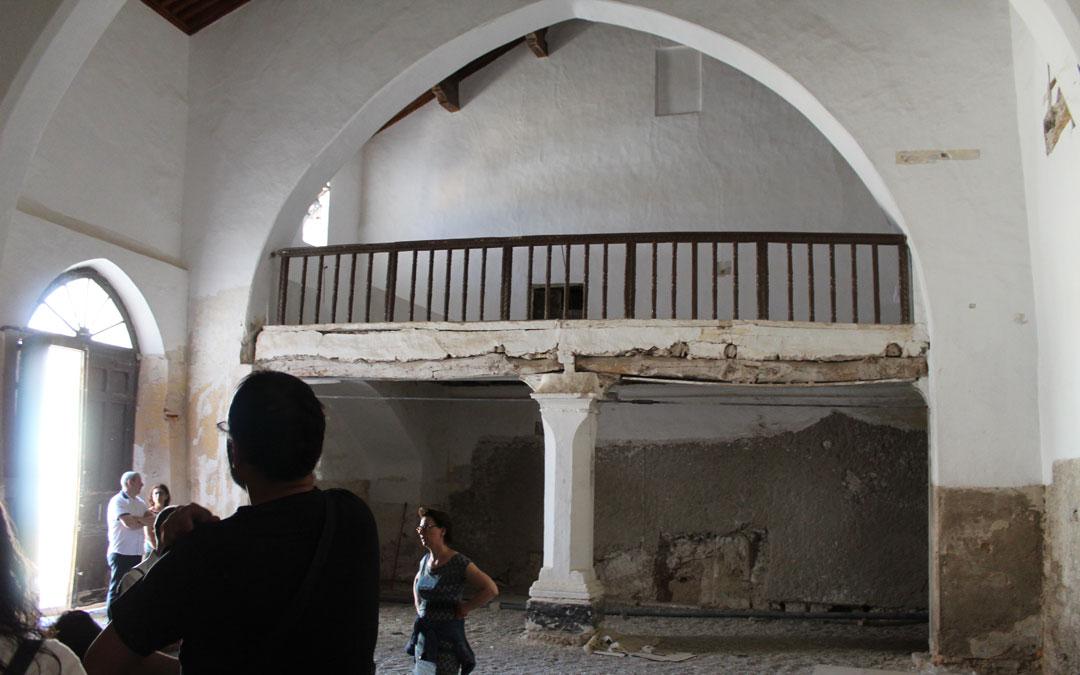 La restauración de la sinagoga de Híjar se reanudará con una inversión de 41.000 euros