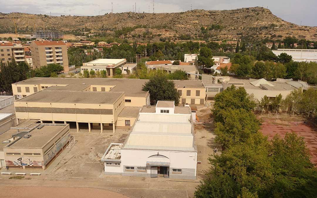 Vista panorámica del CPIF Bajo Aragón de Alcañiz./ Alicia Martín