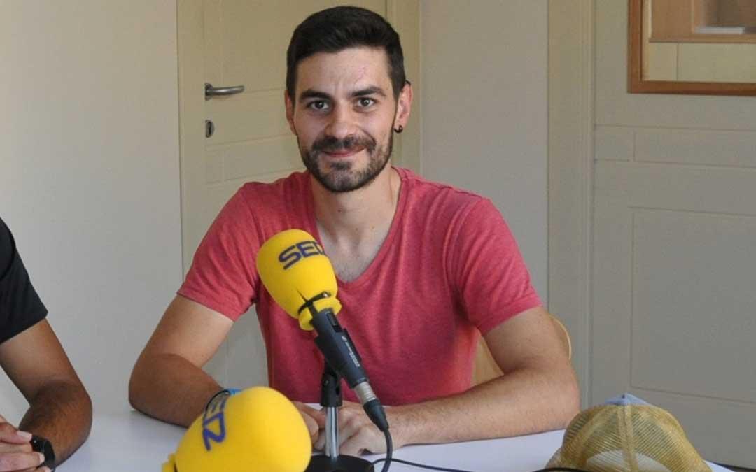 Joan Vives, coordinador de la Escuela de fútbol base de Valderrobres.