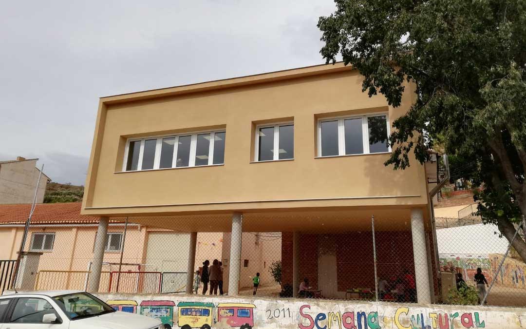 Las instalaciones fueron ampliadas con un nuevo edificio anexo al antiguo