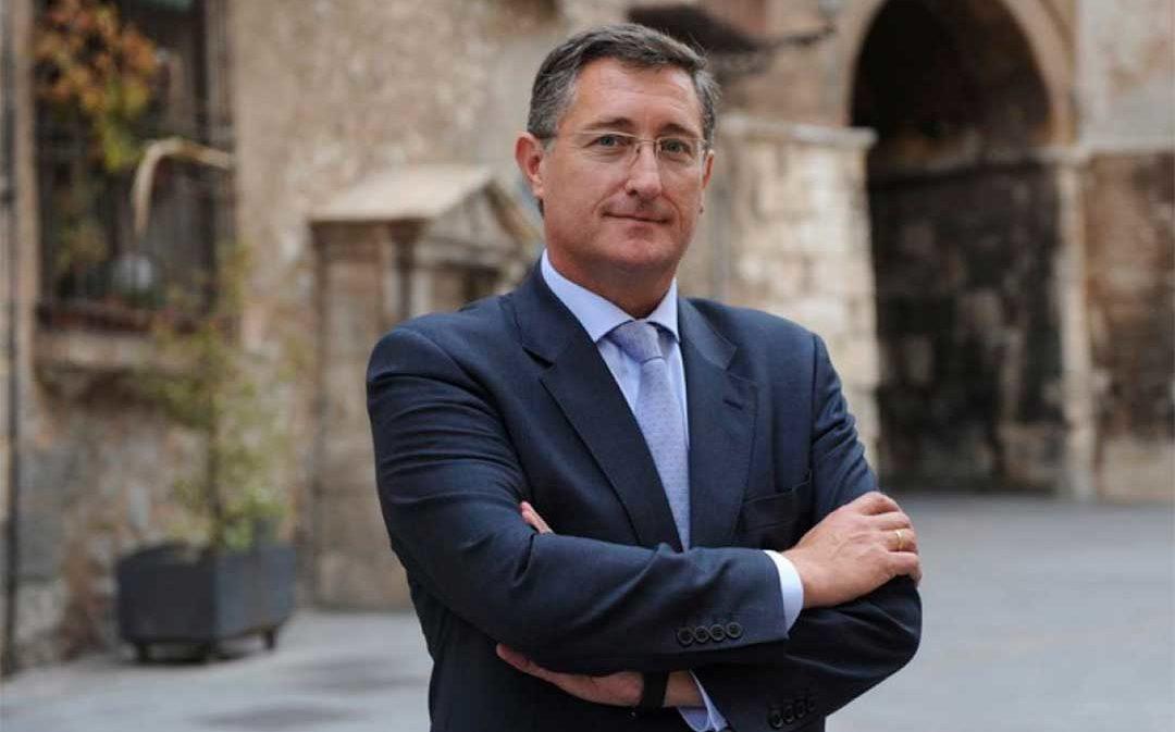 El senador por Teruel del PP, portavoz de la Comisión de Evolución Demográfica