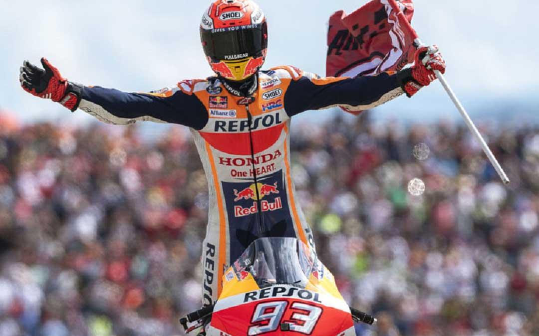 Márquez ha cumplido este domingo 200 carreras en MotoGP /Repsol