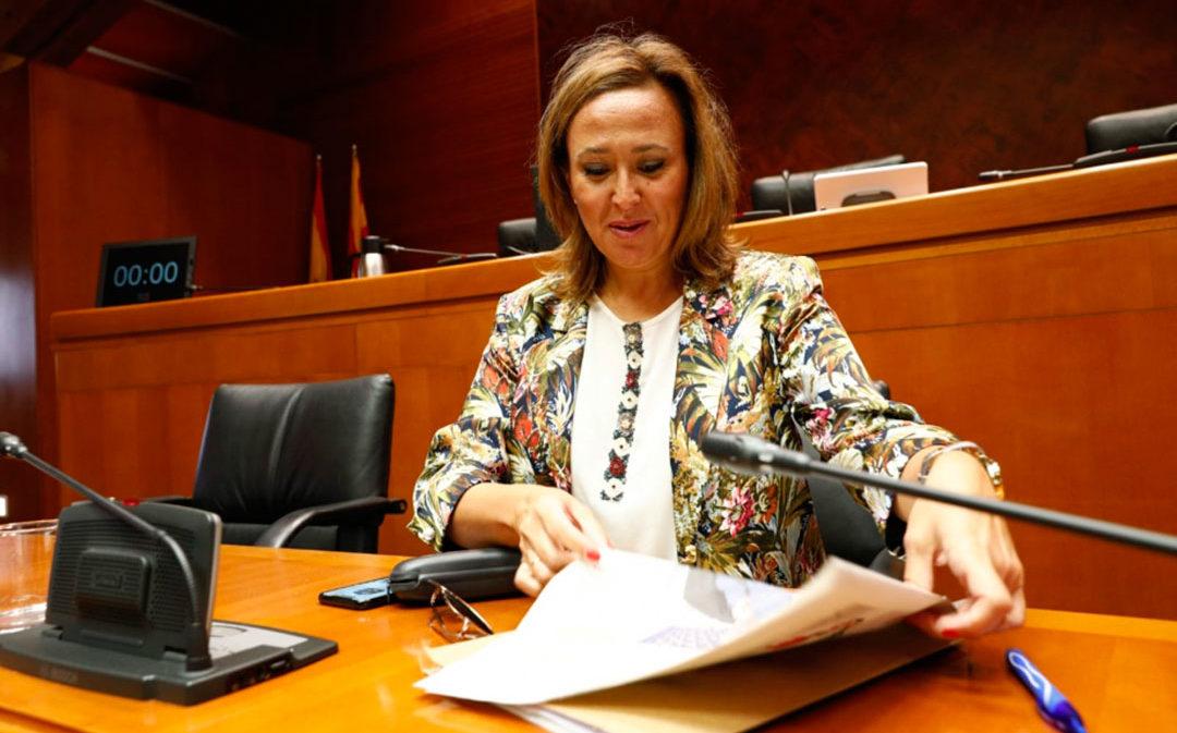 Mayte Pérez anuncia medidas favorables al medio rural