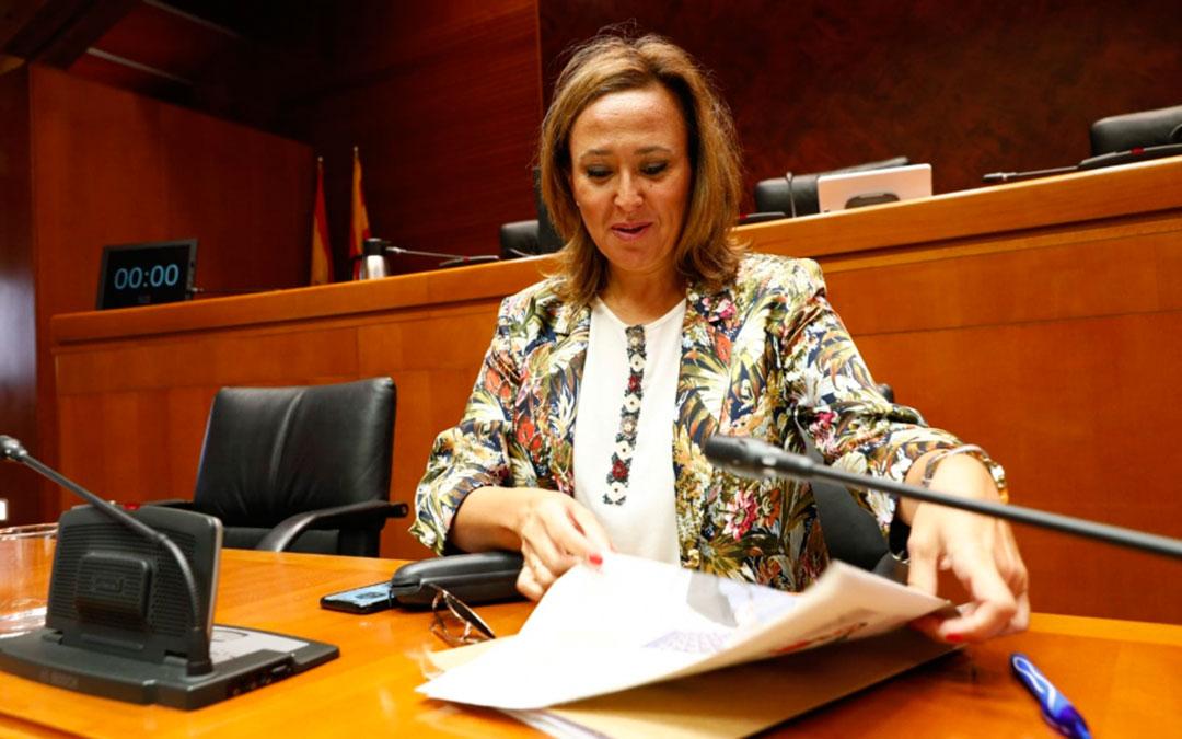 Mayte Pérez, consejera de Presidencia del Gobierno de Aragón | DGA