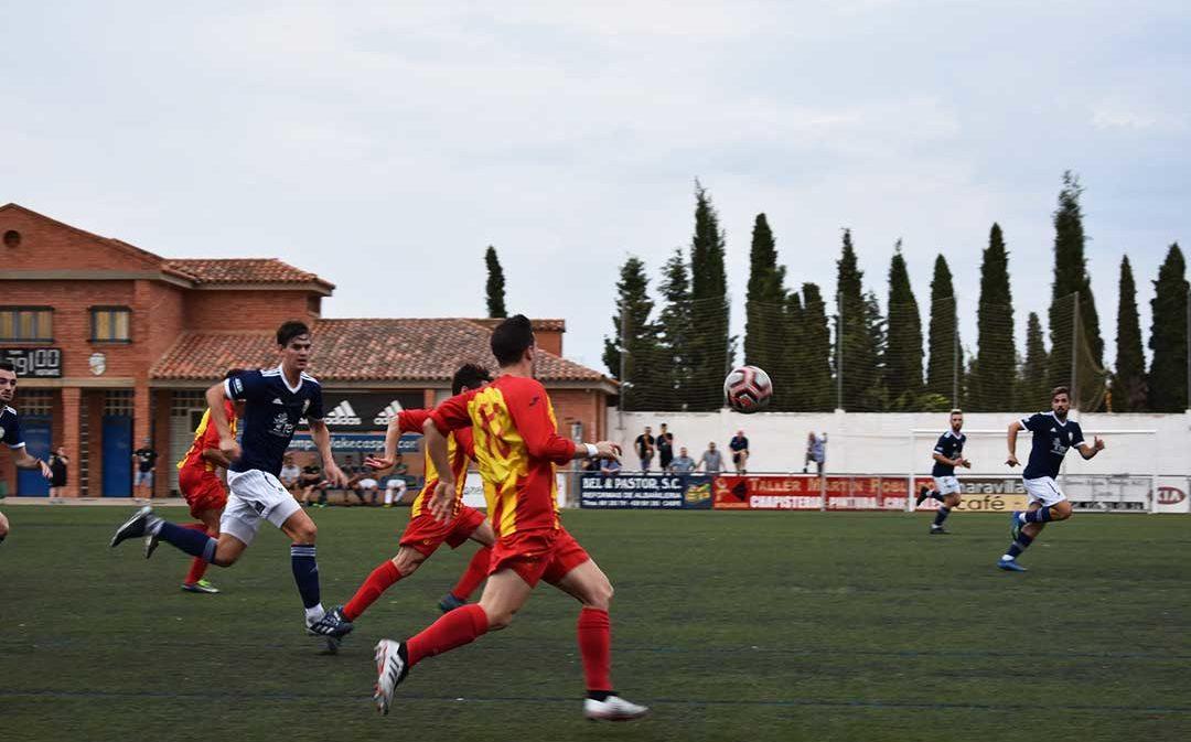 El C.D. Caspe planta cara al C.D. Morata en la primera jornada de la temporada