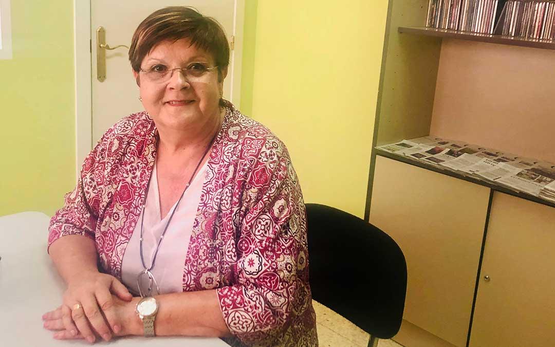 Pilar Mustieles es la alcaldesa de Caspe.
