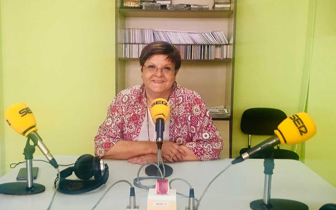 Pilar Mustieles es alcaldesa de Caspe