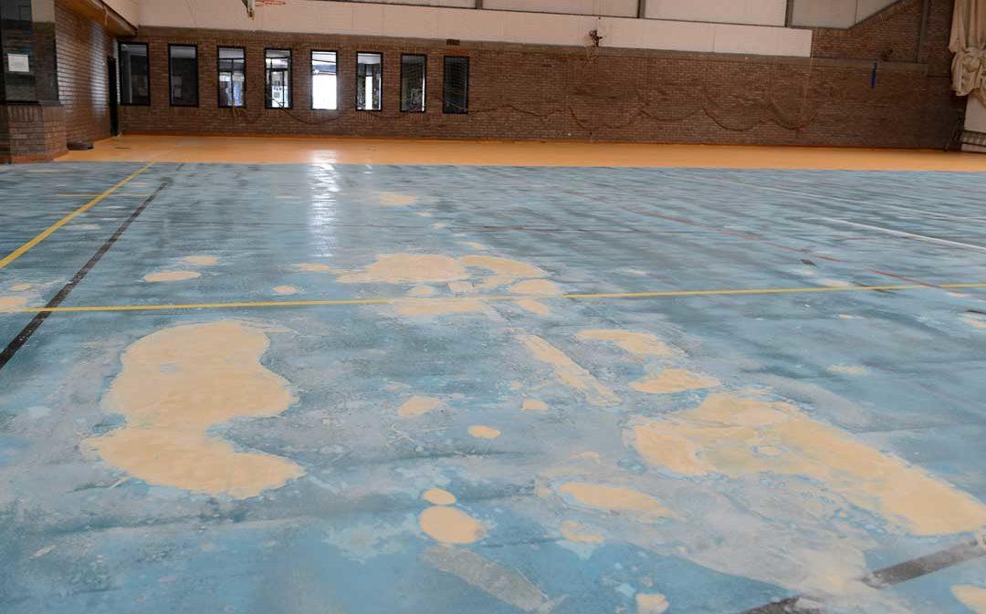 Un problema en las obras retrasa «varias semanas» la actividad en la pista azul de Alcañiz