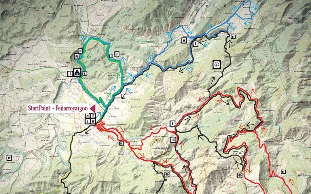 Peñarroya abre 120 kilómetros de rutas BTT y se especializa
