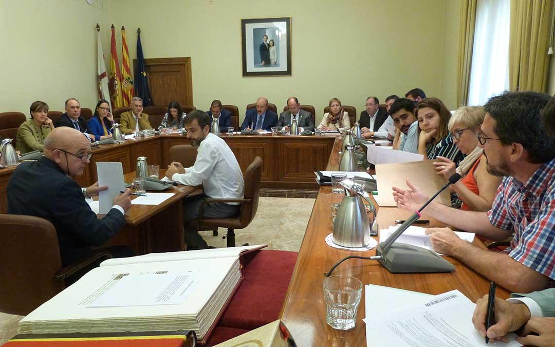 pleno diputacion provincial de teruel dpt