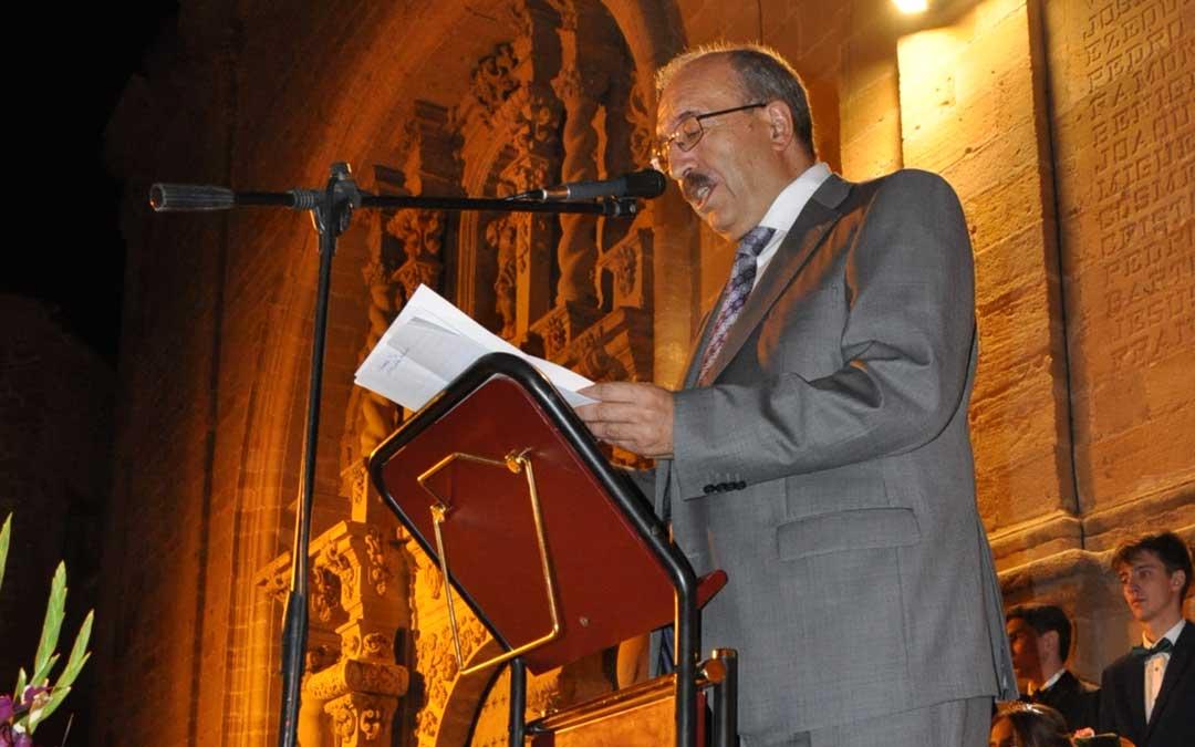 El presidente de la Diputación Provincial de Teruel fue el pregonero