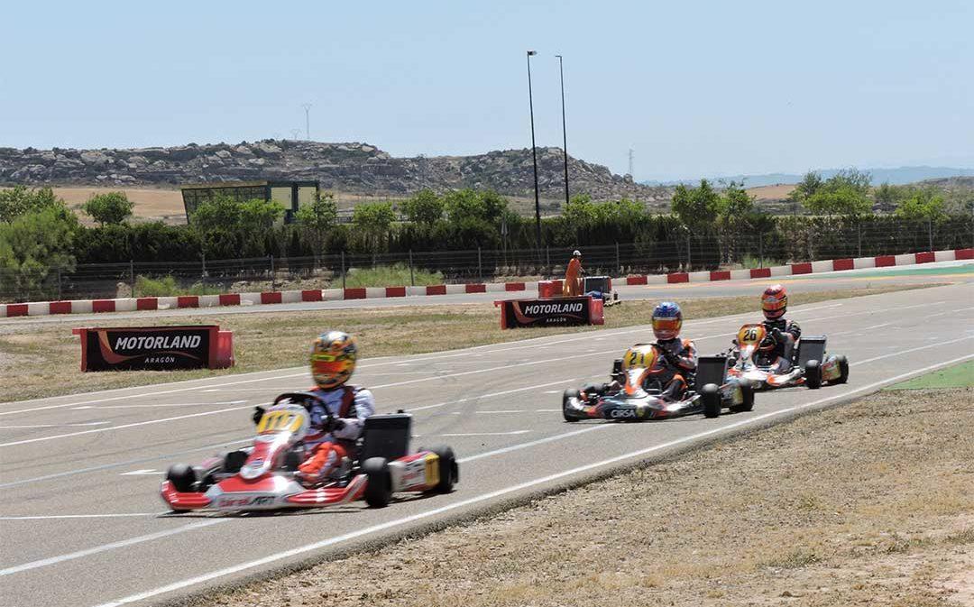 Samper de Calanda acoge el domingo la tercera prueba de la Copa Aragón de Karting