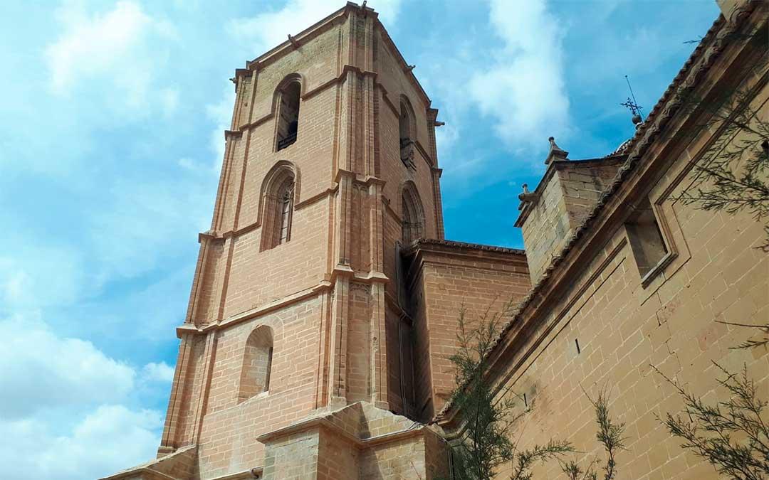 La Torre Gótica de Alcañiz luce un nuevo aspecto tras su rehabilitación.