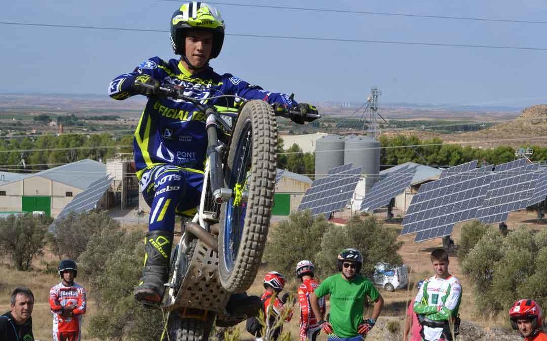 David Millán se alza con el triunfo de la categoría máxima en el Trial Fiestas Alcañiz