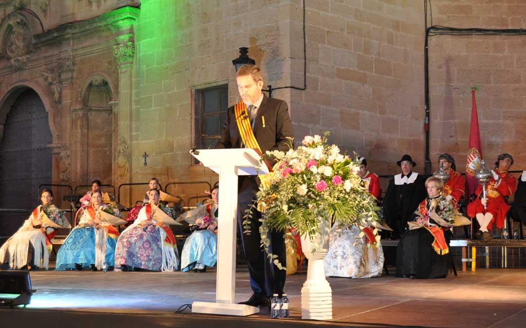 El alcalde de Alcañiz, Ignacio Urquizu, agradeció la presencia de todos los asistentes.