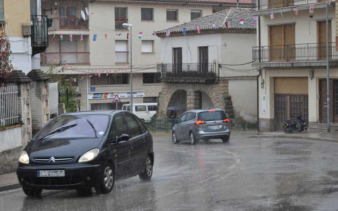 El temporal de lluvia da un pequeño respiro a la sequía en el Bajo Aragón Histórico