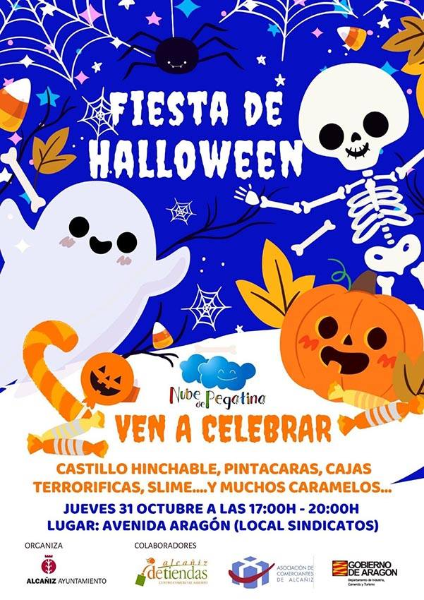 Fiesta de Halloween en Alcañiz