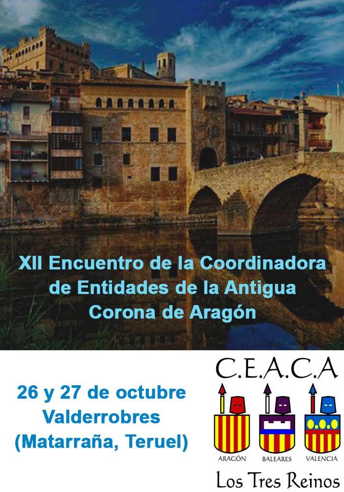 XII Encuentro de Entidades de la Antigua Corona de Aragón en Valderrobres