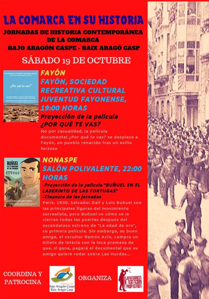 Jornada de Historia Contemporánea de la Comarca del Bajo Aragón Caspe
