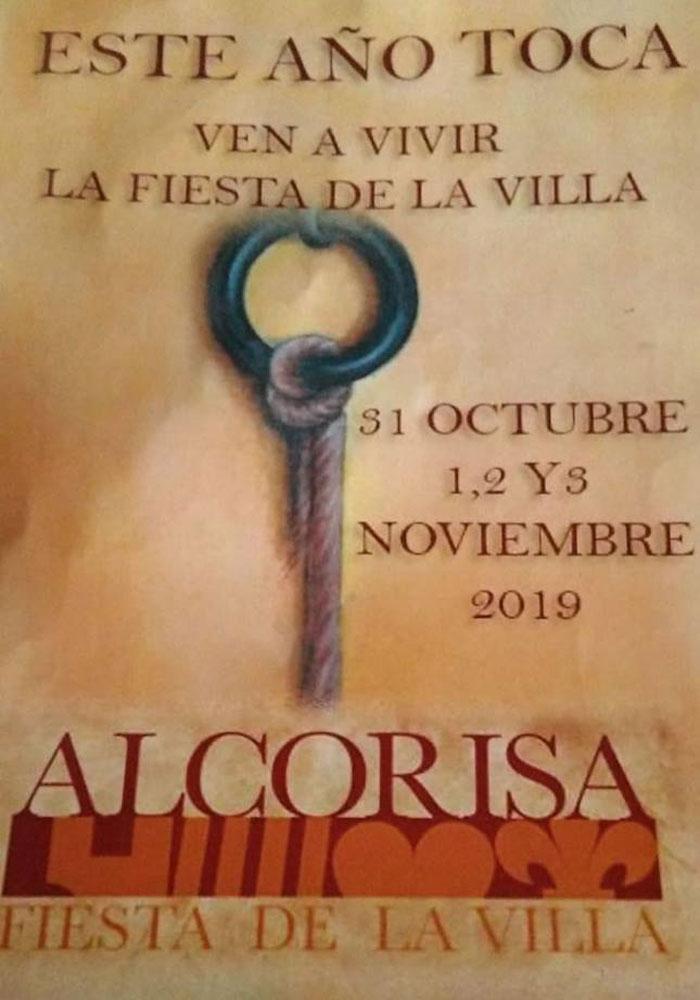 Fiesta de la villa en Alcorisa