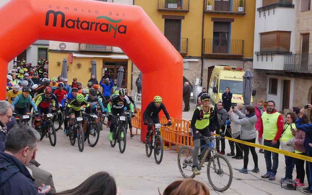 La Matabikers tiene su salida y llegada en la localidad de Fuentespalda