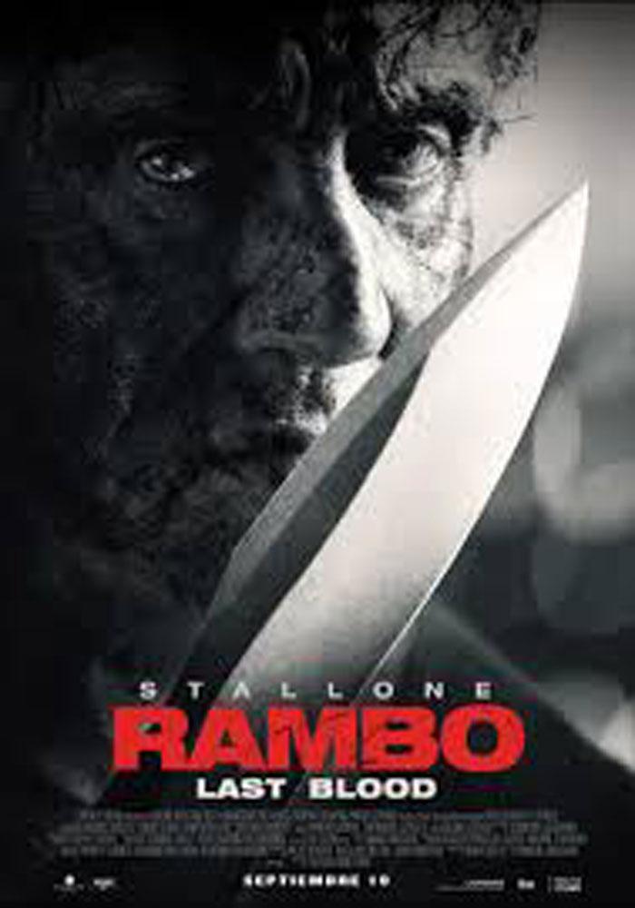 "Cartelera Alcañiz ""Rambo: Last Blood"""