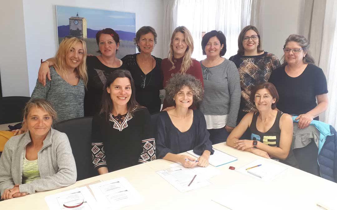 Ocho mujeres participan en el taller 'Mujer y emprendedora' celebrado en la Comarca del Matarraña