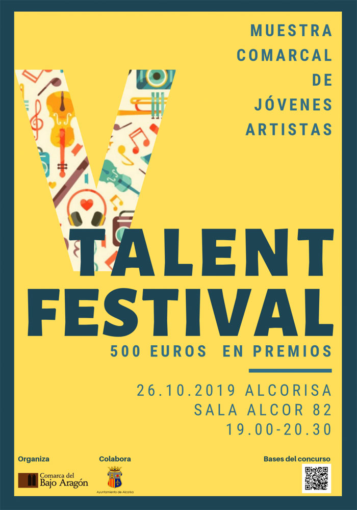 V Talent festival del Bajo Aragón en Alcorisa