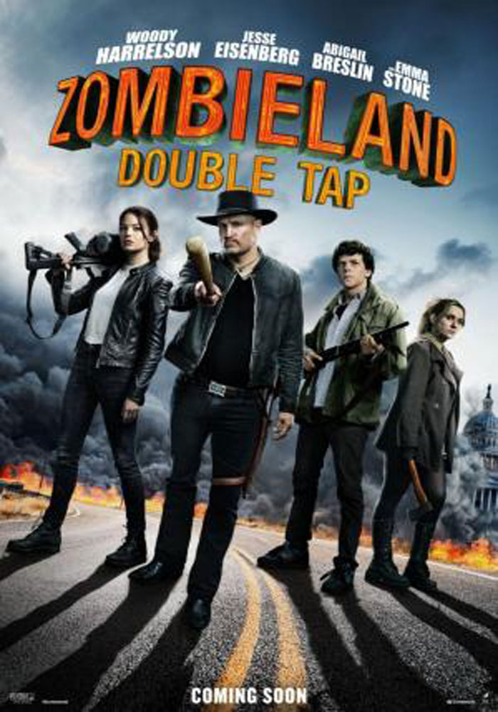 Cartelera en Alcañiz: Zombieland: mata y remata
