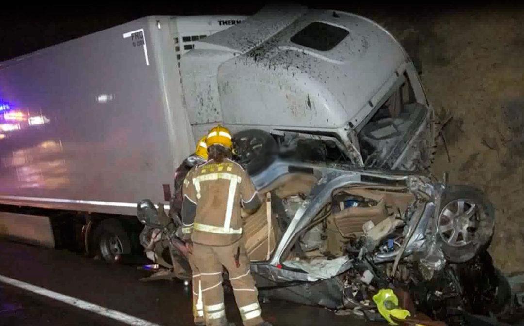 Conmoción en el Matarraña por los tres fallecidos en el accidente de Aldover