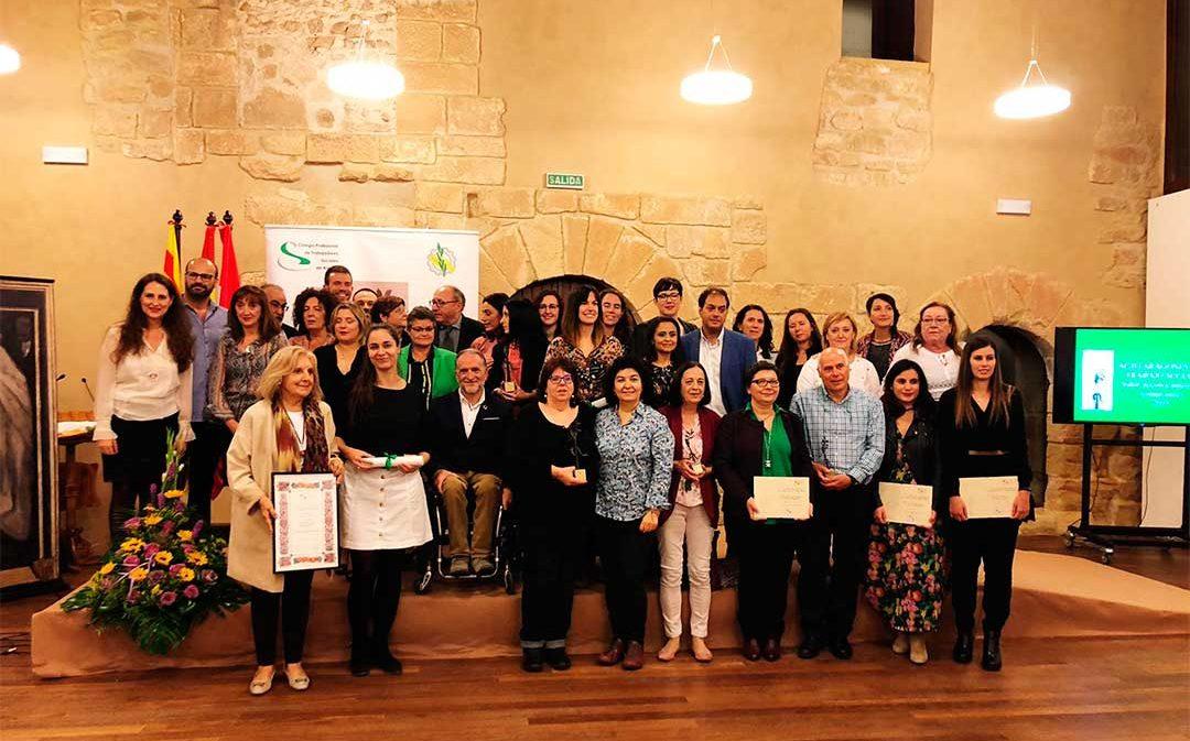 El Colegio de Trabajadores Sociales reconoce a los mejores profesionales del año en Caspe
