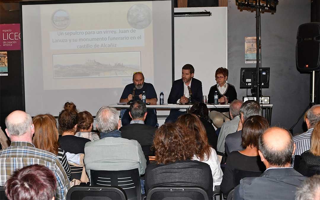 Inauguración de las III Jornadas del CEAR en Alcañiz./ Paco Climent