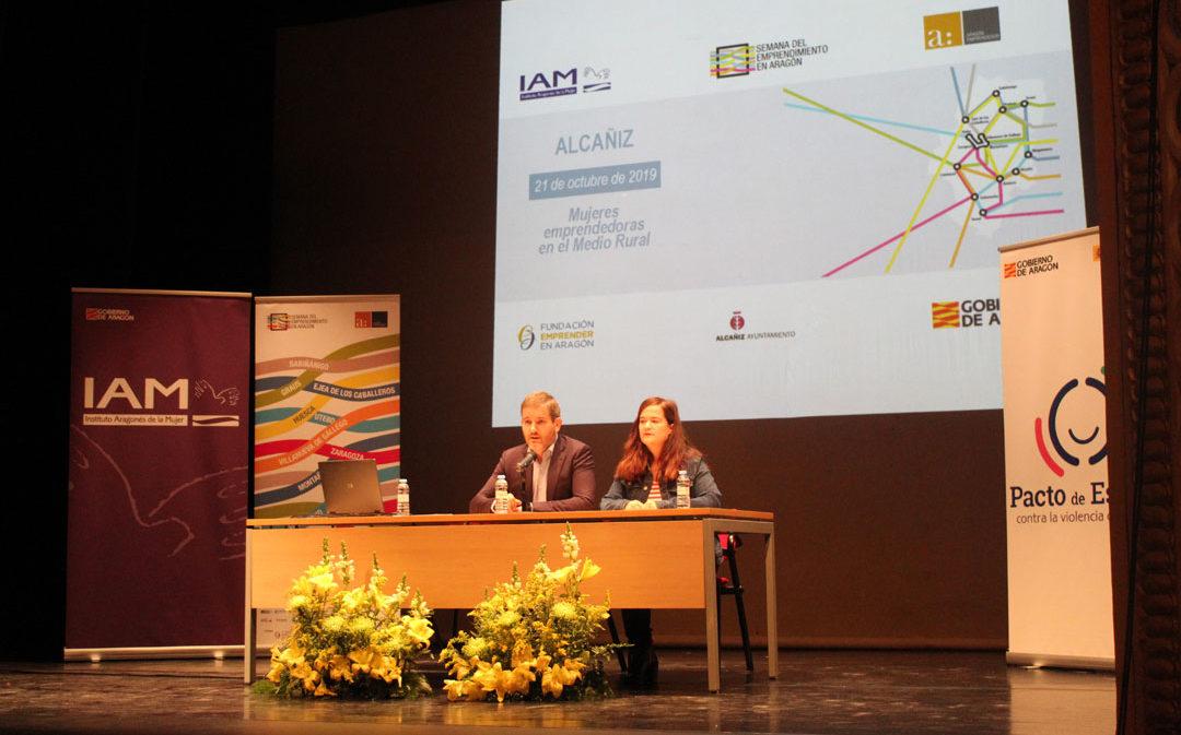 El emprendimiento femenino analiza sus fortalezas en Alcañiz