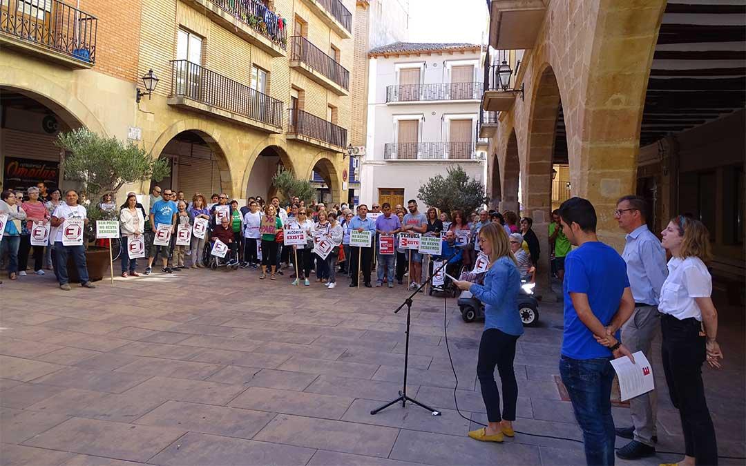 El Ayuntamiento de Alcorisa ha leído un manifiesto por la España Vaciada.