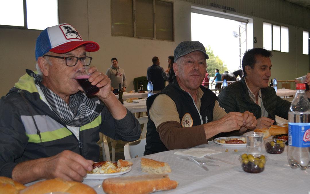 Al encuentro asistieron alcañizanos y vecinos de distintas comarcas